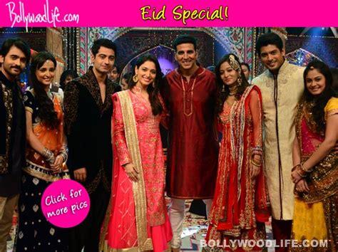 aktor film rangrasiya eid special akshay kumar celebrates with beintehaa