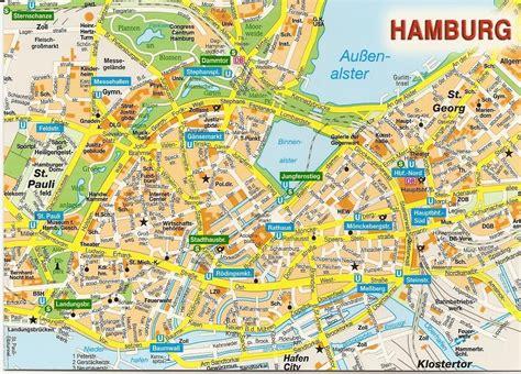 printable map hamburg maps of hamburg downtown mapa owje com