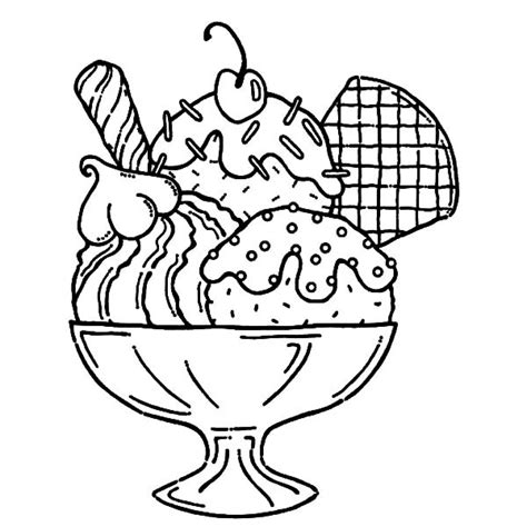 coloring page ice cream sundae ice cream coloring pages coloringsuite com