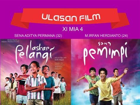 ulasan tentang film laskar pelangi ulasan film