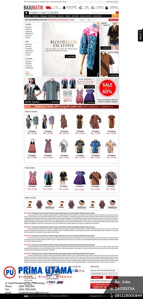 jasa pembuat web online shop jasa website wordpress di purwokerto cv prima utama
