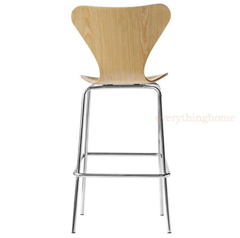 Molded Plywood Bar Stool by Arne Jacobsen Series 7 Style Bar Stool Molded Plywood