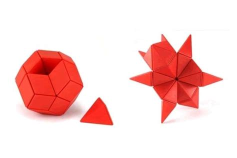 How To Make Cool Origami Toys - origami inspired desk toys of whacks