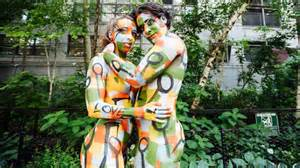 painting new 2015 see stunning photos from nyc bodypainting day