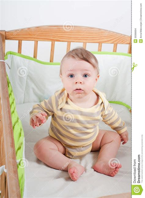 www baby baby in cradle stock images image 35089694