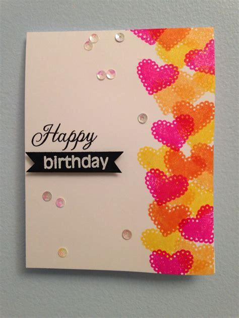 Handmade Birthday - 17 best images about birthday cards on