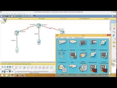 tutorial cisco packet tracer bahasa indonesia tutorial konfigurasi routing dynamic bgp dan ospf dengan