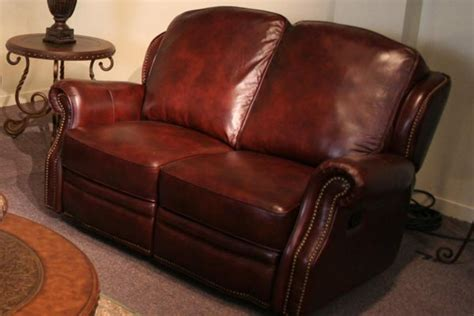 All Leather Reclining Sofa Mckinney All Leather Reclining Loveseat At Gardner White