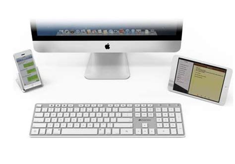 Keyboard Wireless Imac kanex bluetooth wireless keyboard for imac and ios devices