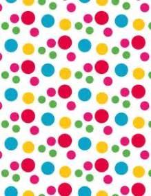 8 best images of polka dot paper printable design