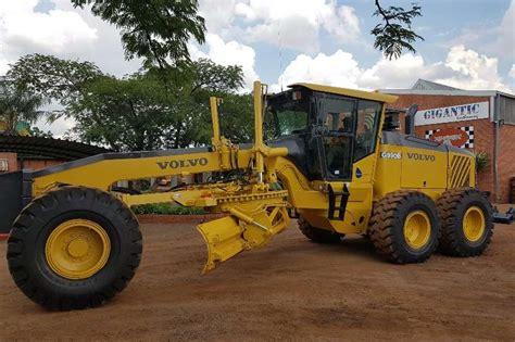 volvo  articulated motor grader graders machinery  sale  gauteng