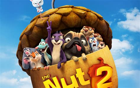 The Nut Job 2 Nutty by Nature 2017 Wallpapers   HD