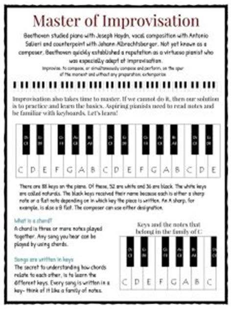 beethoven biography interesting facts beethoven worksheet wiildcreative