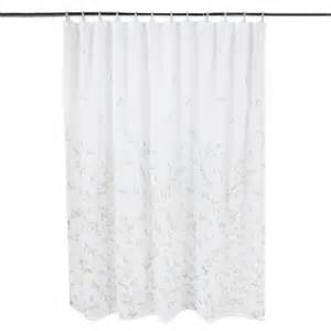 Home Ruffled Shower Curtain » Home Design