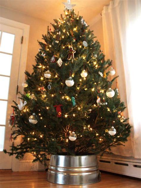 diy galvanized christmas tree collar hack diy network blog  remade diy
