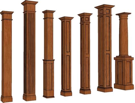 Decorative Wood Columns by 37 Best Images About Columns On Stains