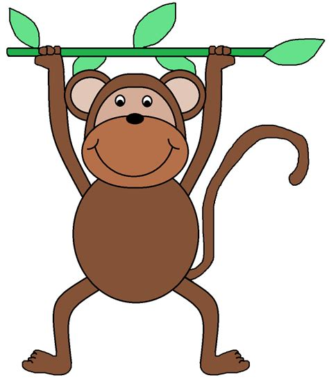 monkey clipart graphics by ruth zoo