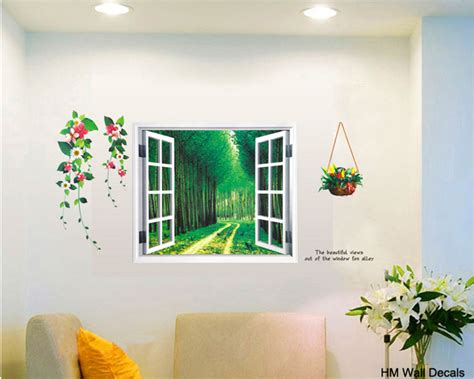 Window Decals Diy by 3d Window Diy Removable Wall Decal