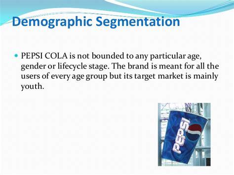 marketing report  pepsi