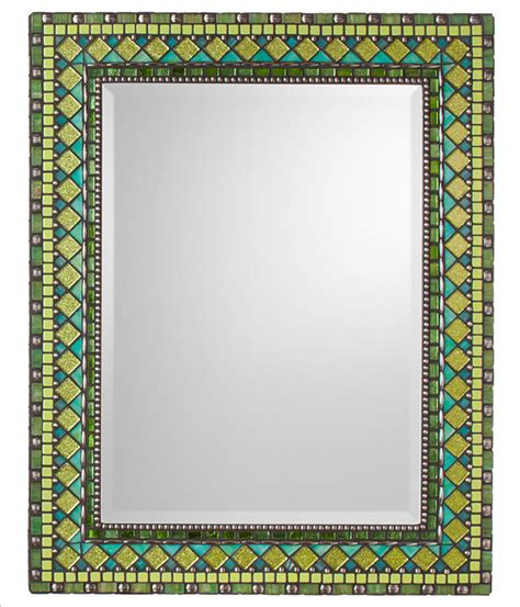 Heirloom Collection Mosaic Mirrors Traditional Mosaic Bathroom Mirrors