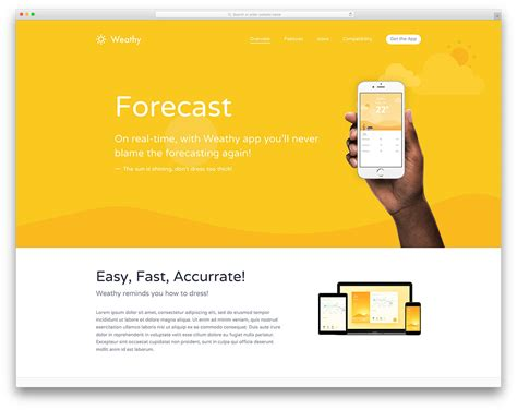 40 best landing page wordpress themes for apps products