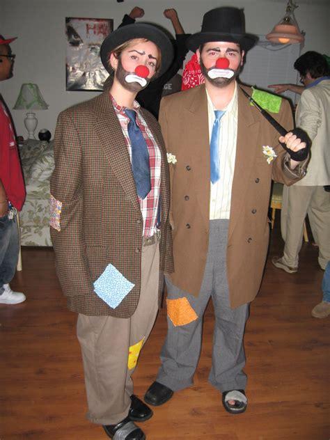 hobo clown costume  steps