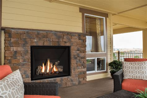radiant heat fireplace feel the warmth of radiant heat outdoors with our valor