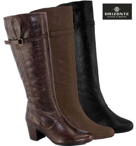 orizonte leather womens boots heels on sale