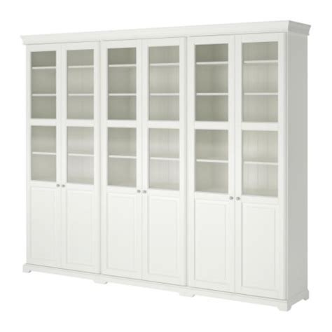 Ikea Billy Bookcase Reviews Liatorp Storage Combination With Doors Ikea