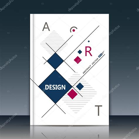 design journal cover abstract cover annual report cover cover vector cover