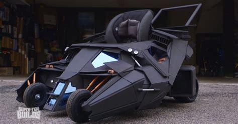 Kinderwagen Auto by Batman S Tumbler Batmobile Turned Into Baby Stroller