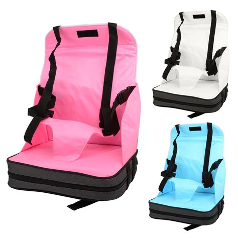 Dining Chair Booster Seat Babyhugs Portable Baby Toddler Foldable Dining Chair On The Go Booster Seat Ebay
