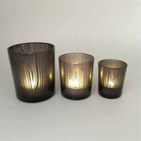 Decorative Candle Holders by Home Decorative Glass Windproof Candle Holder Wholesale