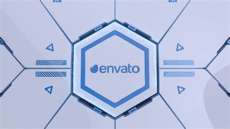 hitech logo reveal technology envato videohive after
