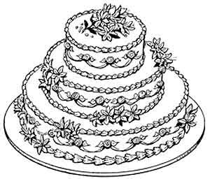 layer cake coloring pages 9 images of layer cake coloring page layered cake