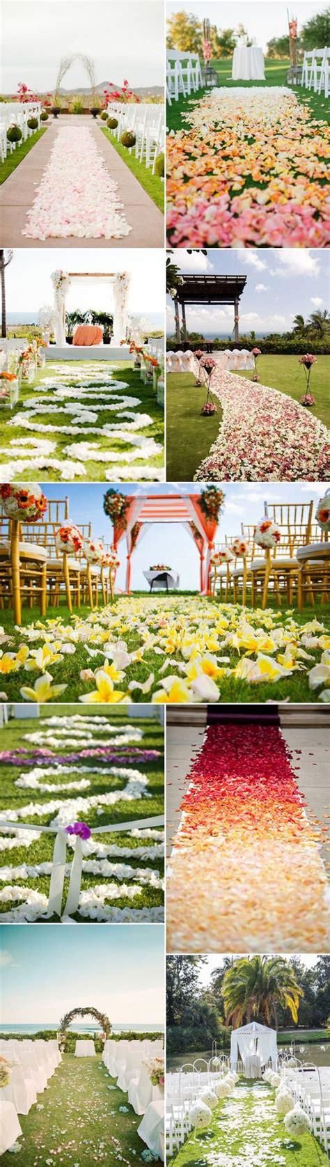 Outdoor Wedding Aisle Runner Ideas by Best 25 Outdoor Wedding Aisles Ideas On