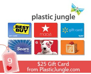 Places That Donate Gift Cards - valentine s giveaway spectacular 9 1 winner gets 25 gift card from plastic jungle