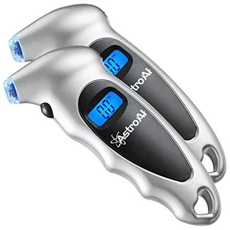 Murah Digital Lcd Tire Pressure astroai 2 pack digital tire pressure 150 psi 4 settings for car truck bicycle with backlit