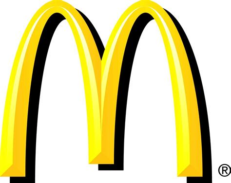 Mac Donalds mc donald s the golden arch symbol doodlejam