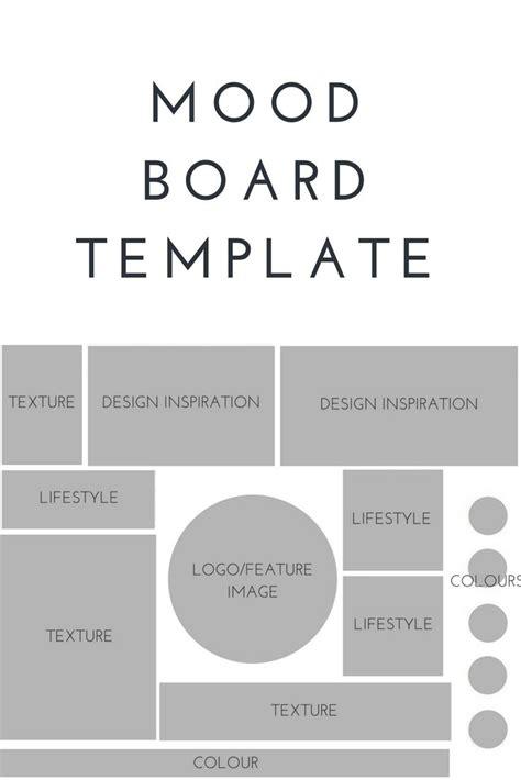 fashion mood board template 20 best ideas about mood boards on mood board