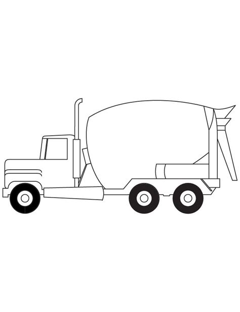 coloring pages cement truck cement truck coloring pages coloring pages