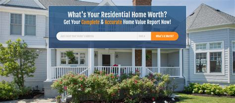 home value report what s your home worth