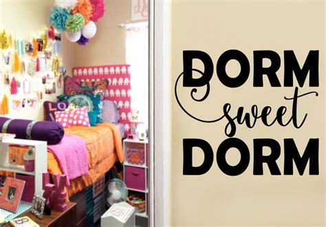 sweet college decor wall by designnmore