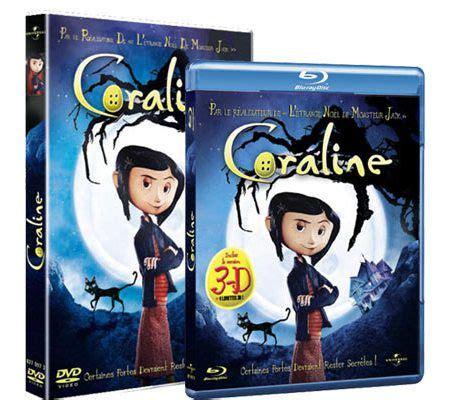 Coraline 2d 3d 1 Disc coraline 2d et 3d test complet les num 233 riques