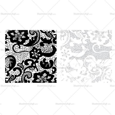 lace pattern illustrator floral lace pattern swatch illustrator stuff