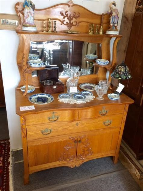 sale antique english country pine buffet hutch server