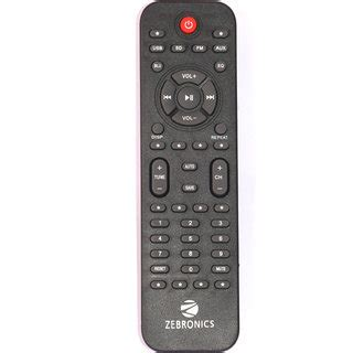 buy zebronics  channel home theater remote controller