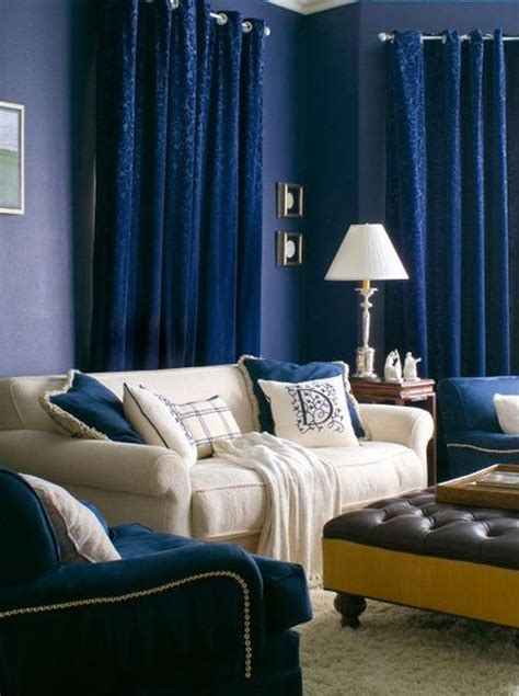 blue curtains living room cool blue living room ideas