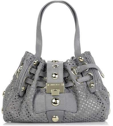 Jimmy Choo Rikki Perforated Handbag bags galore oh my fashionprovocateur s