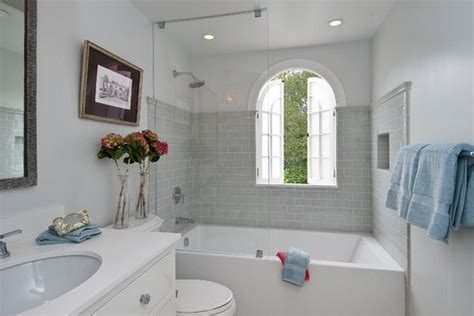 bathroom ideas with tub looking at a view how you can make the tub shower combo work for your bathroom